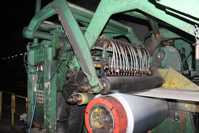 """60"""" x .060"""" x 40,000lbs Wean-United Tension Leveling Line with Slitter"""