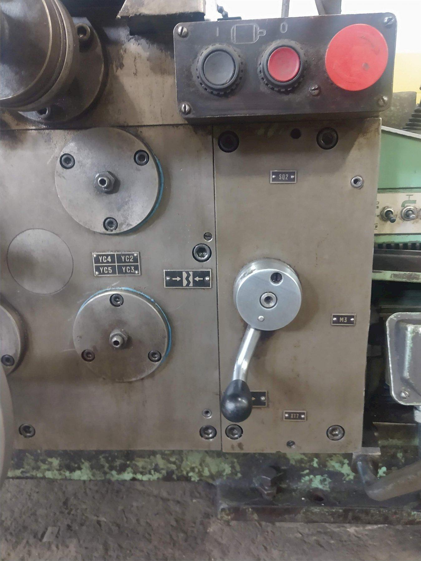 "28/36"" X 120"" STANKO MODEL #1M63B GAP BED ENGINE LATHE"
