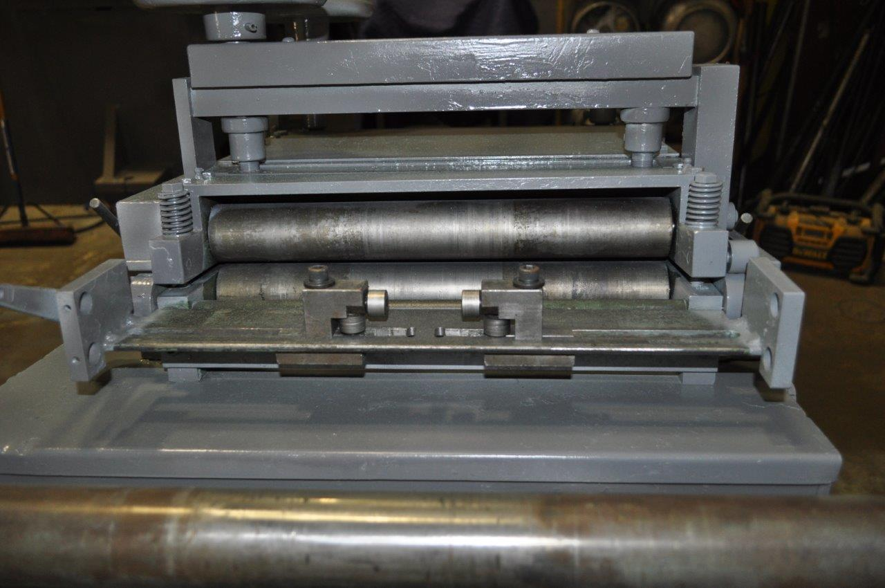 "2000 LB x 15"" x .080"" Rowe Coil  Cradle Straightener"