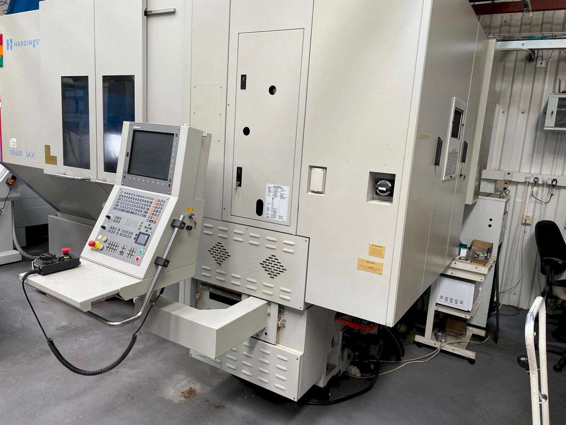 Hardinge Bridgeport XR 600-5AX Vertical Machining Centre