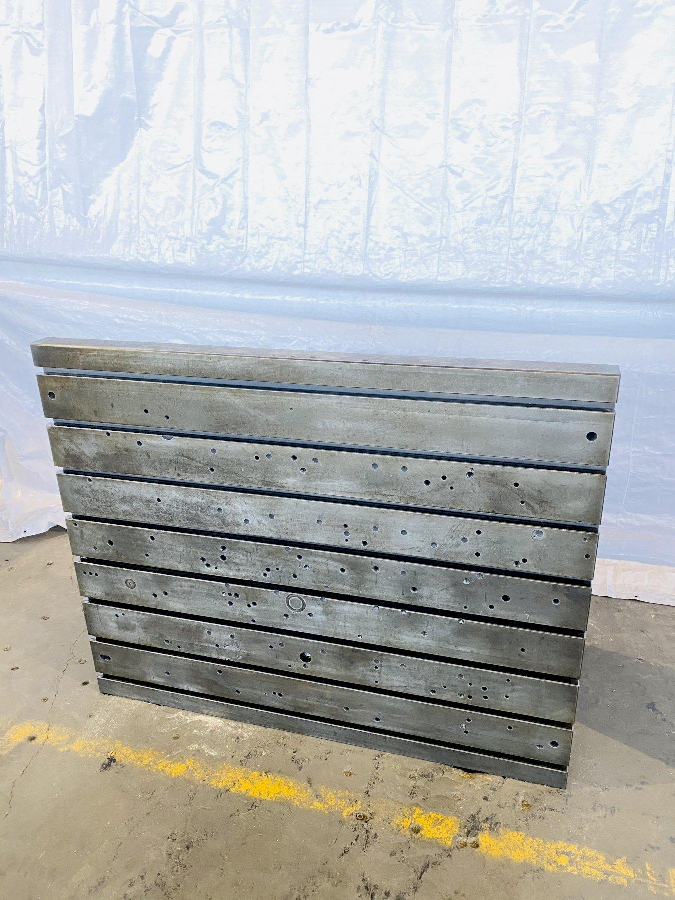 "48"" T x 60"" L x 26"" D T SLOTTED ANGLE PLATE. STOCK # 0506920"