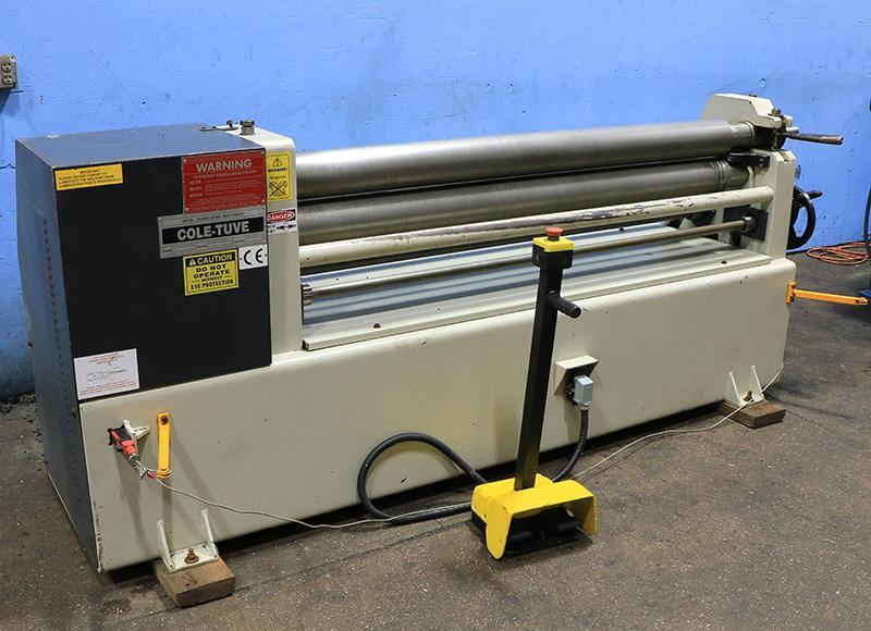10 Ga x 5 ft Cole Tuve Power Plate Bending Roll