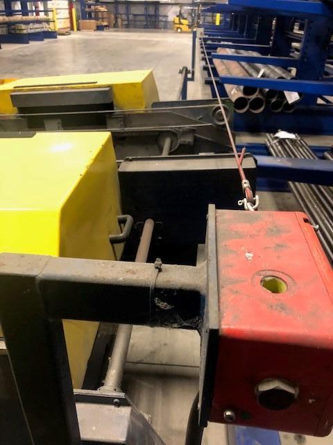 "4"" X 10' BURRMASTER DOUBLE END TUBE DEBURRING MACHINE"