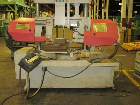 BEHRINGER M# HBP 310-523G SEMI-AUTOMATIC MITER BAND SAW   Our stock number: 112373
