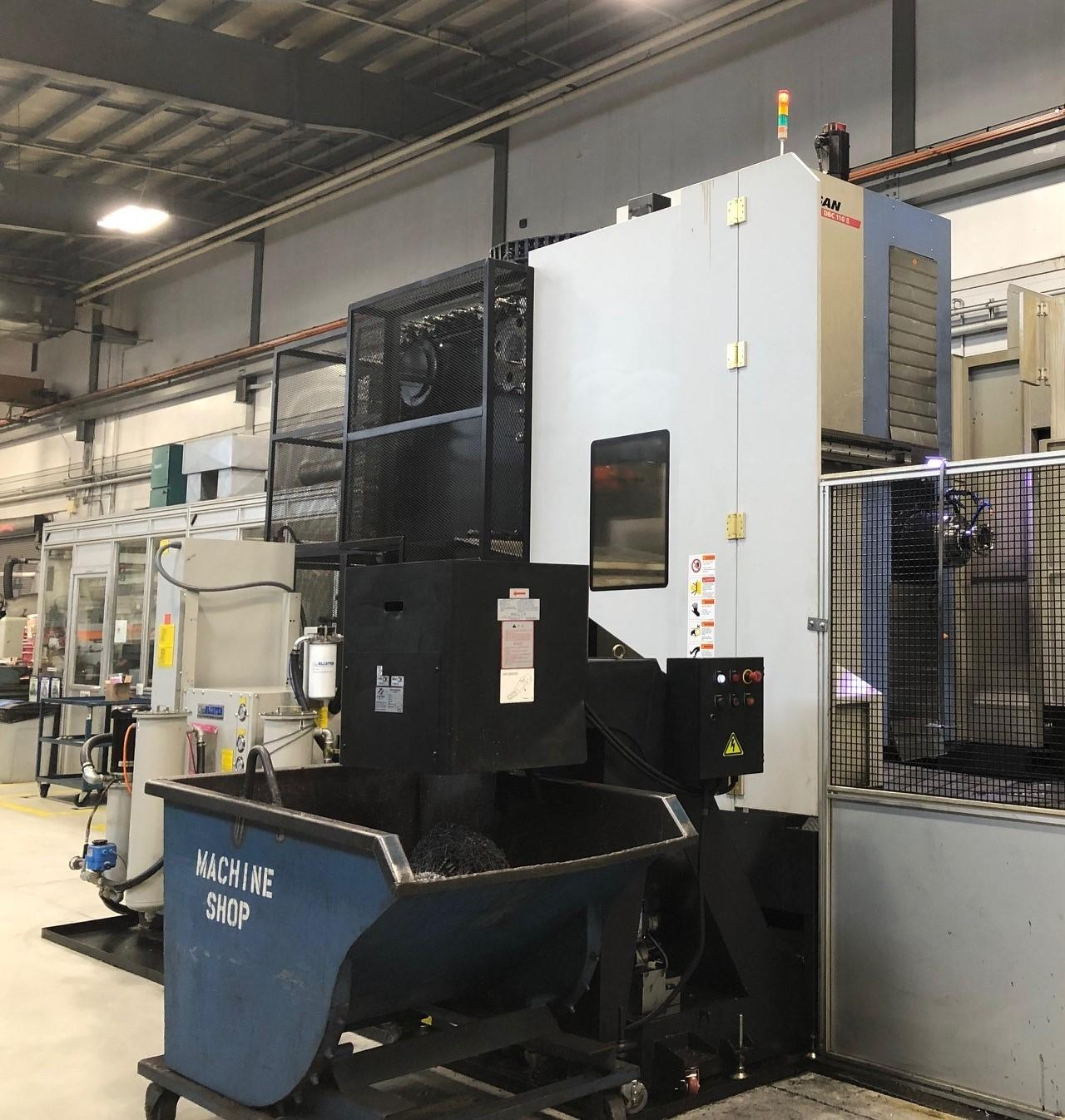 Doosan DBC II Series CNC Horizontal Boring Mill With High Speed 4K Spindle