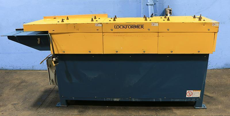 18 Ga. Lockformer TDC Rollforming Machine Model 14-TDC