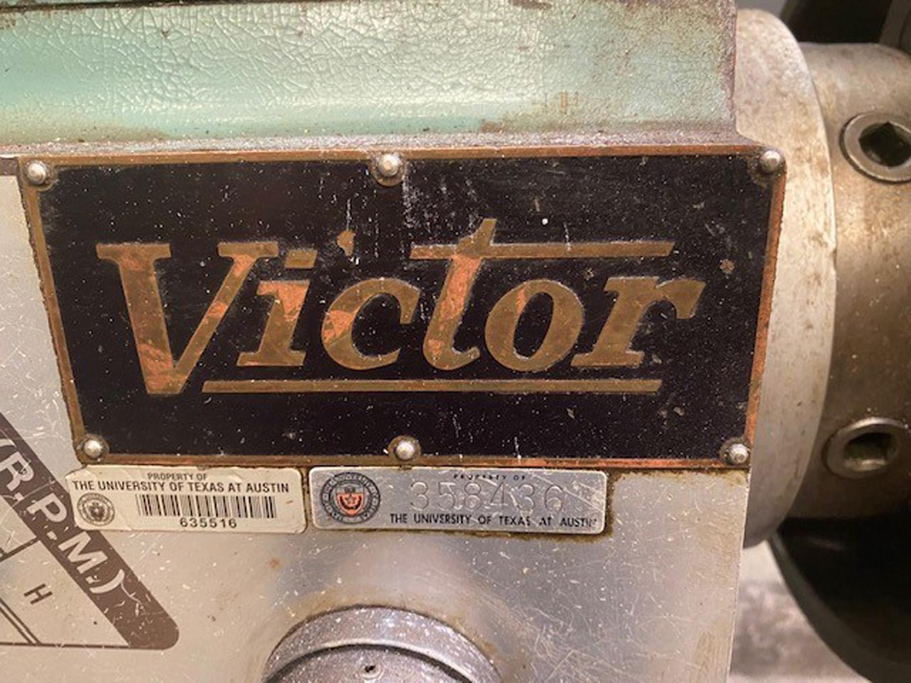 "USED, 20"" X 80"" VICTOR MODEL 2080 ENGINE LATHE"