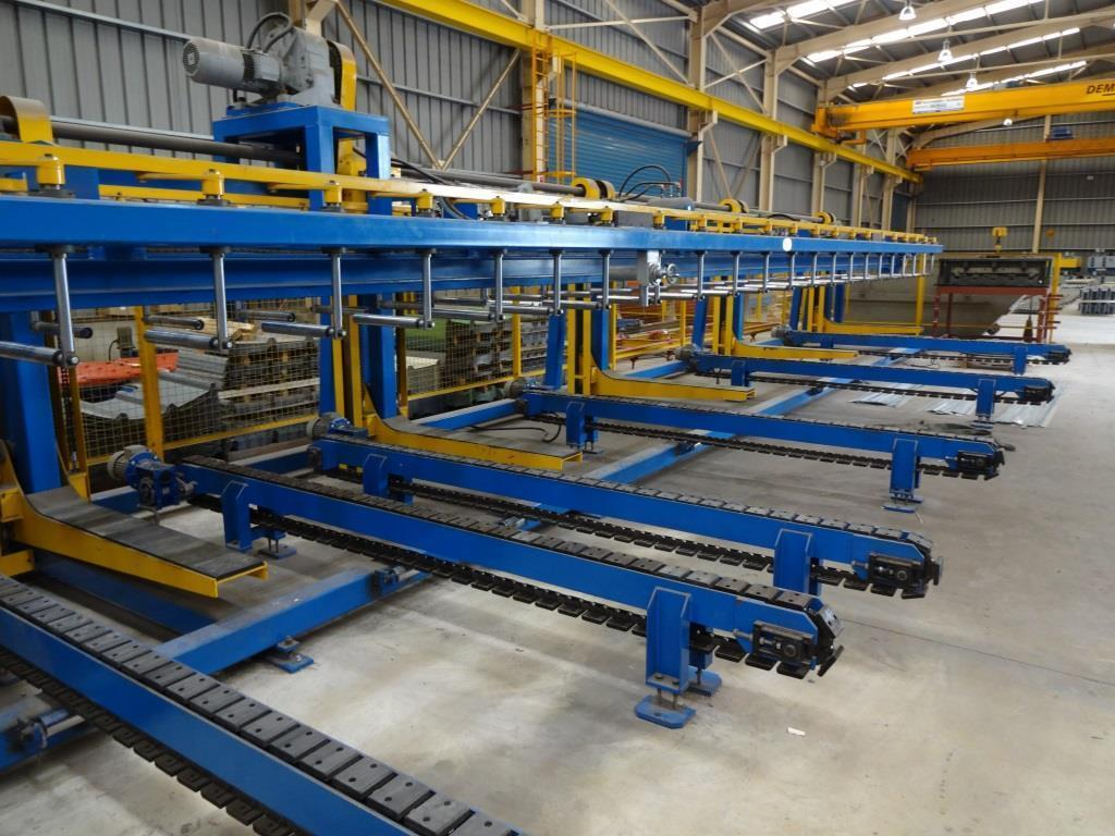 24 Stands (4 Cassette Type) Trapezoidal Roll Forming Line