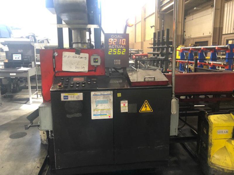 "Used AMADA FULLY AUTOMATIC CARBIDE CIRCULAR SAW , Model CM75, 2.95"", Stock No. 10597, Year 2005"