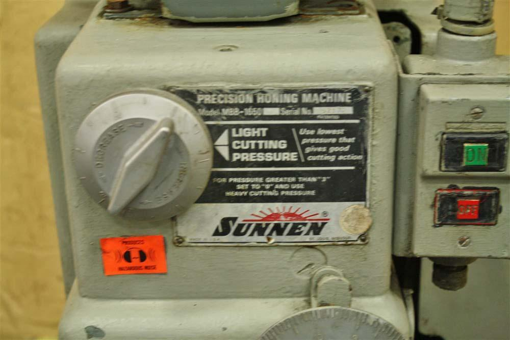 5-1/2' SUNNEN MODEL MBB-1650 HONE MACHINE: STOCK #56796