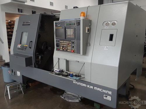 Hyundai Kia SKT-300MS CNC Lathe, 2006