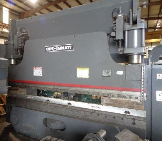 230 Ton x 12 Ft Cincinnati CNC Hydraulic Press Brake Model 230AF10