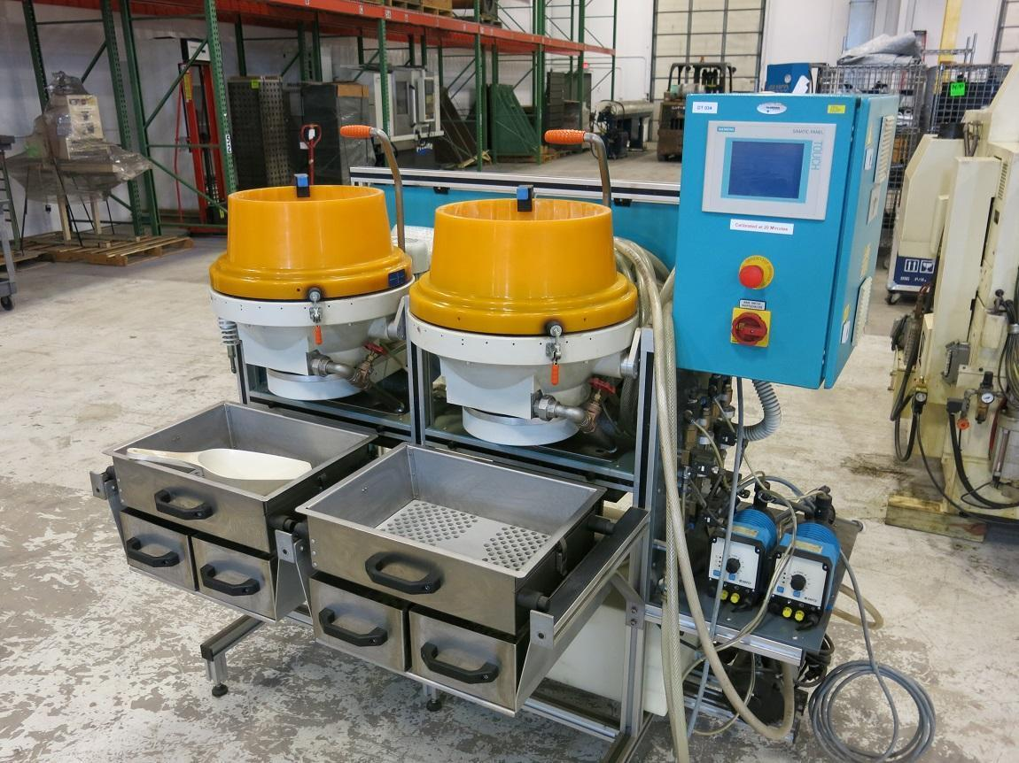 MultiFinish MF 22 / 2 ( Wet Bowls) Centrifugal Precision Polishing & Grinding Machine, Application: Med Device, Watch Parts, Sci Instr, New 2012