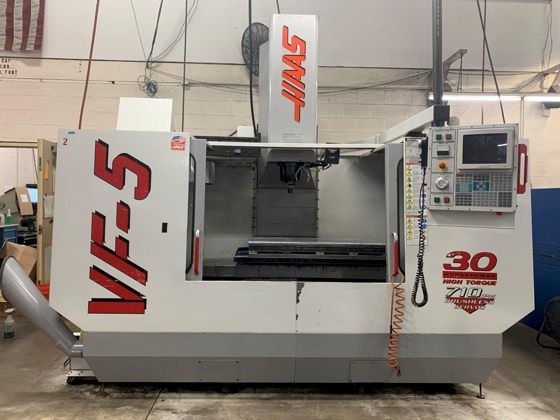 Haas VF-5/50 CNC Vertical Machining Center