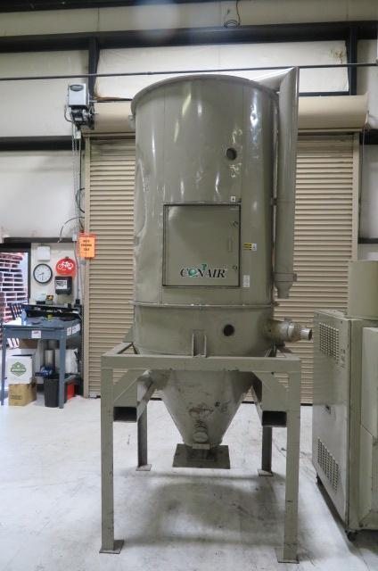 Conair Franklin Used CH39-35 Drying Hopper, 35 cu ft,  1225 lb capacity