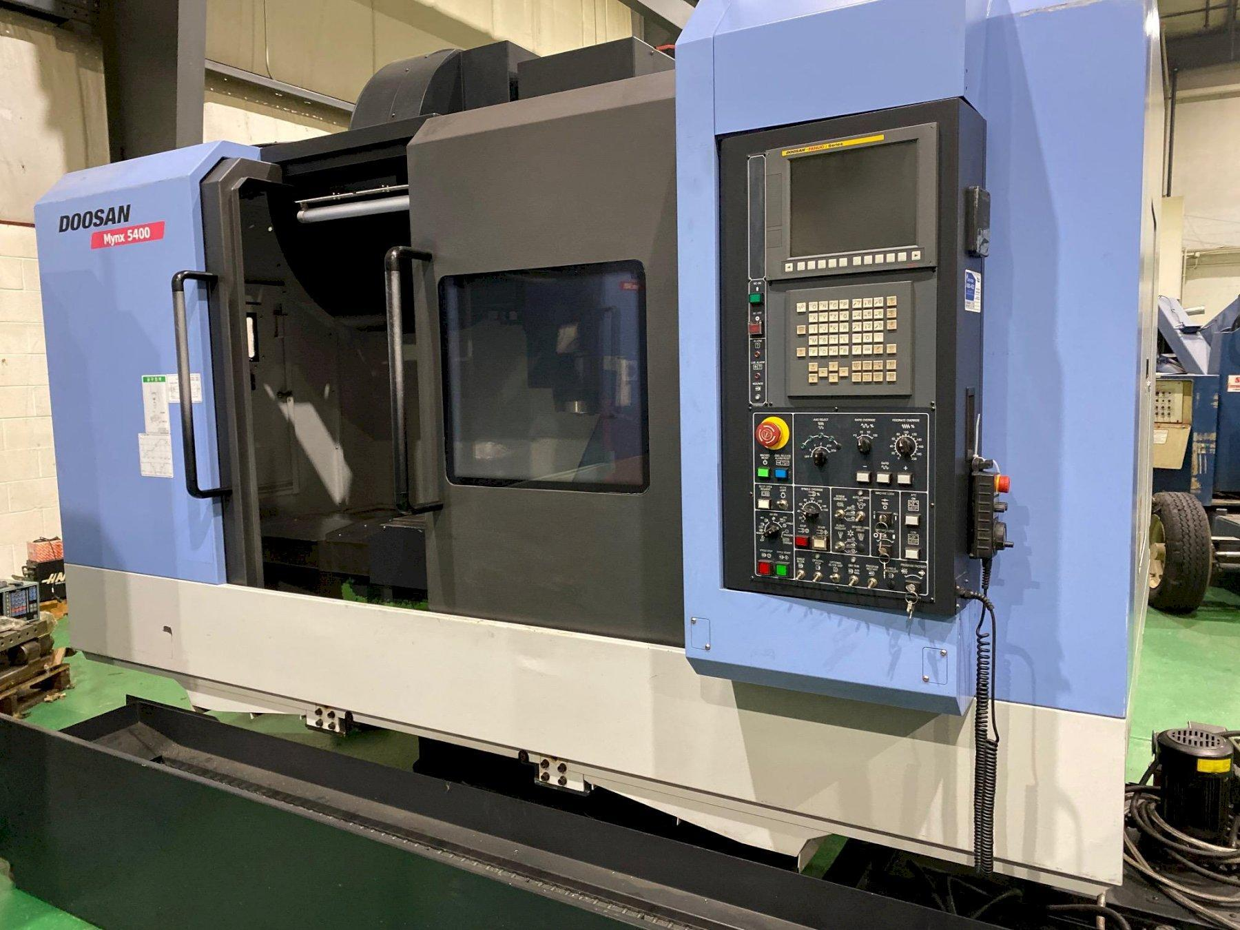 2014 Doosan Mynx 5400 - Vertical Machining Center