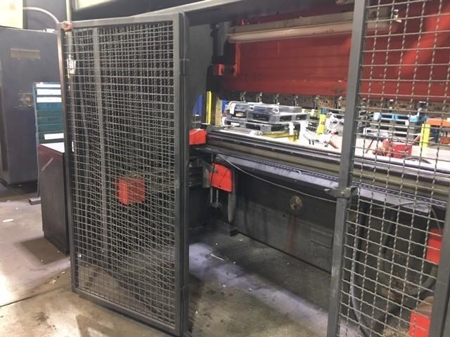 USED AMADA 187 TON X 10' MODEL HFE 1703S 6-AXIS HYDRAULIC DOWNACTING CNC PRESS BRAKE, Stock# 10729, Year 2004