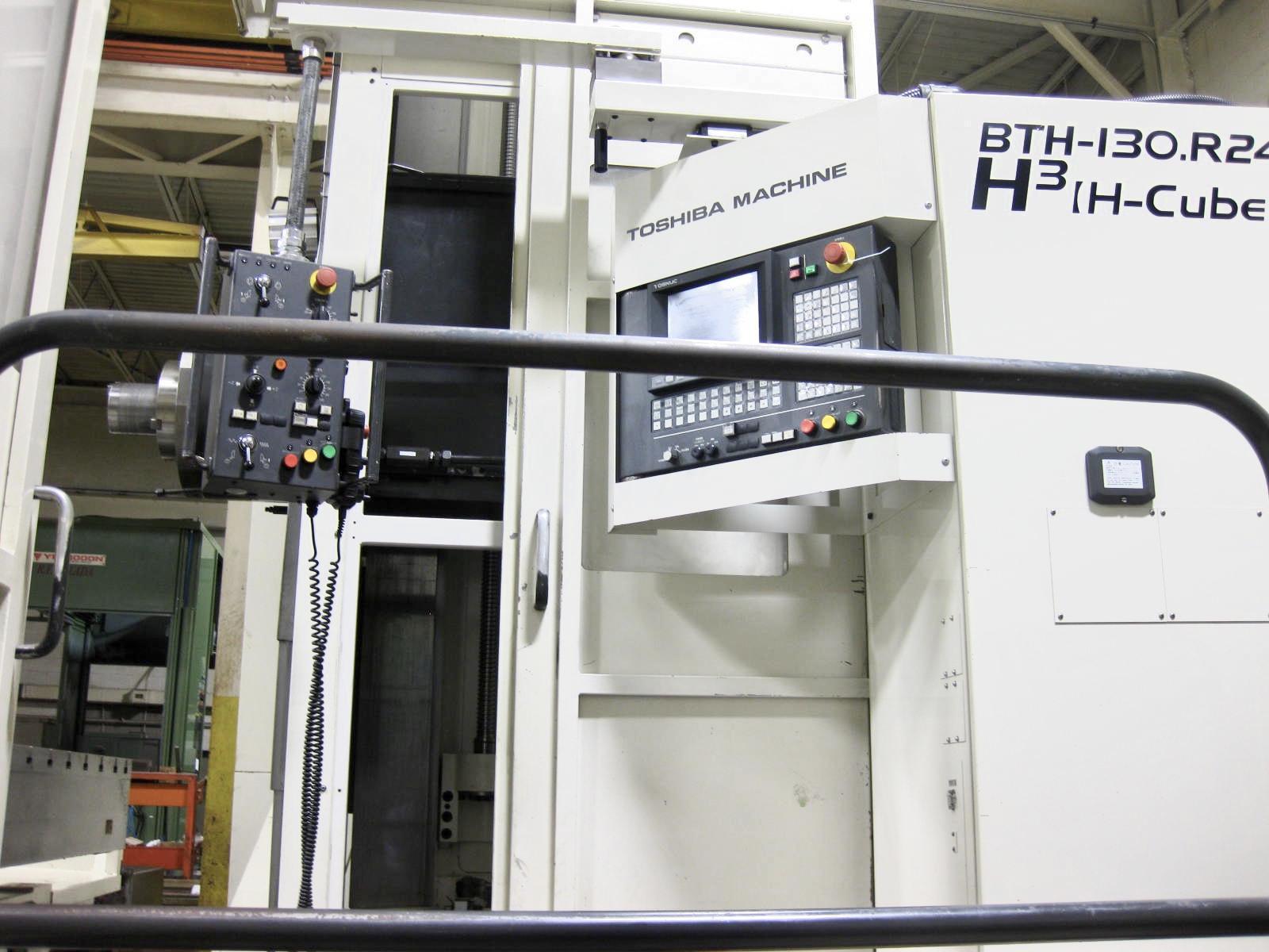 TOSHIBA BTH 130 R24 HORIZONTAL BORING MILL 2008