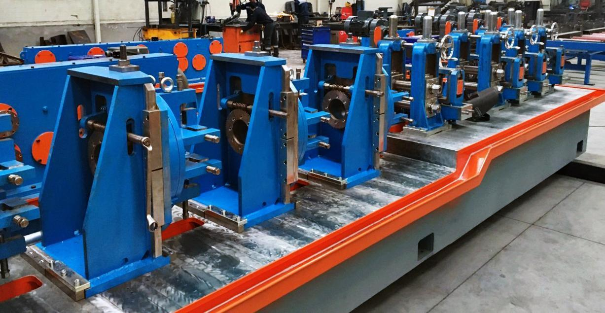 """Arriving Soon - New 3-1/2"""" (89mm) ERWTech/UCG Tube Mill Line"""