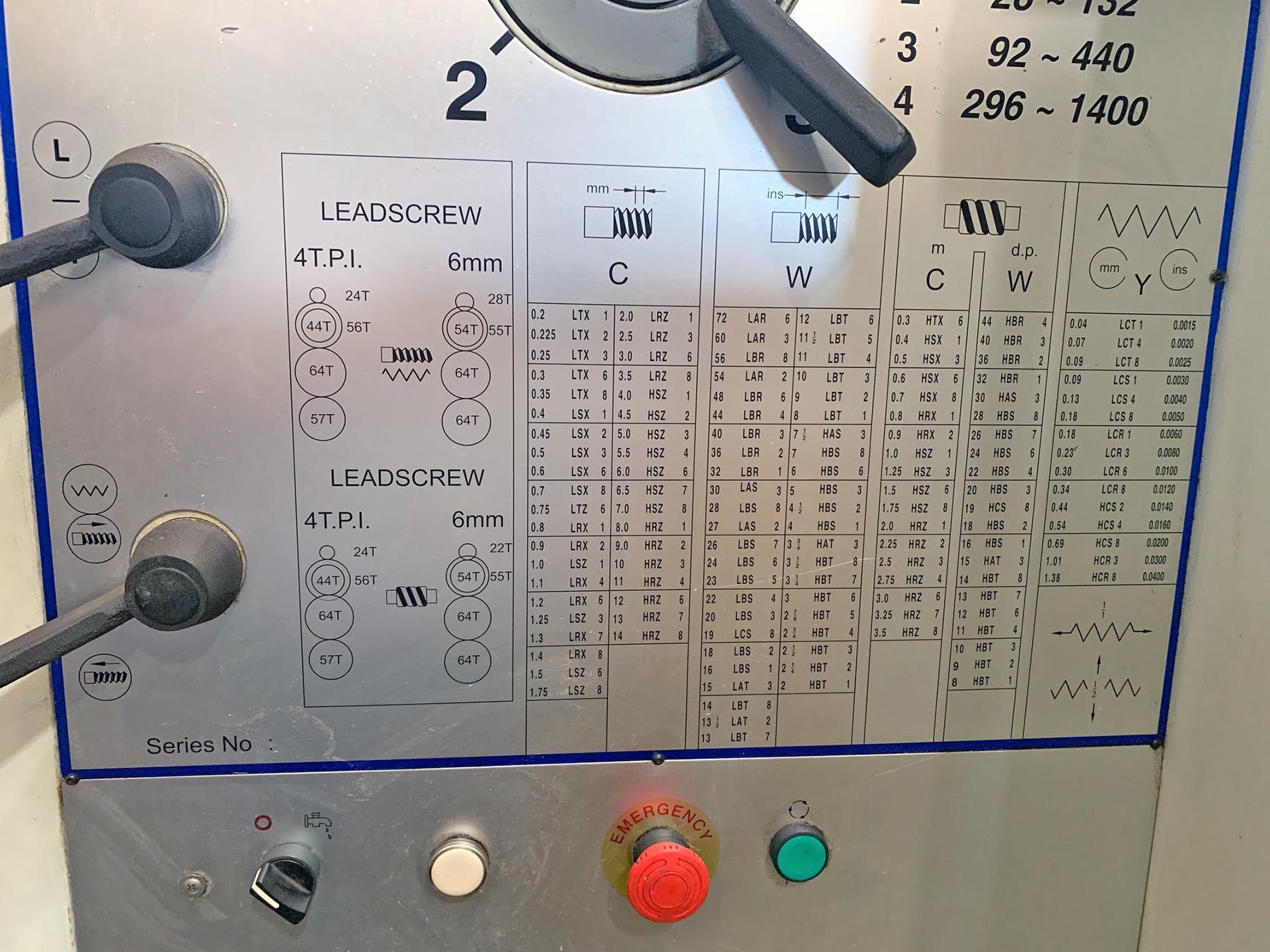 "USED, 30"" X 80"" CINCINNATI MODEL 30X80VS PYTHON LATHE"