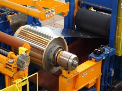 """HERR VOSS / HILL ACME STAINLESS STEEL 62"""" COIL TO COIL WET GRINDING AND   Our stock number: 114277"""