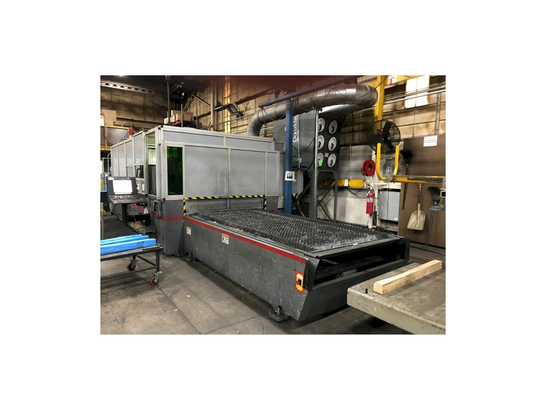 USED CINCINNATI 5' X 10' CNC FIBER LASER CUTTING SYSTEM MODEL CL940, Year: 2012, Stock # 10720