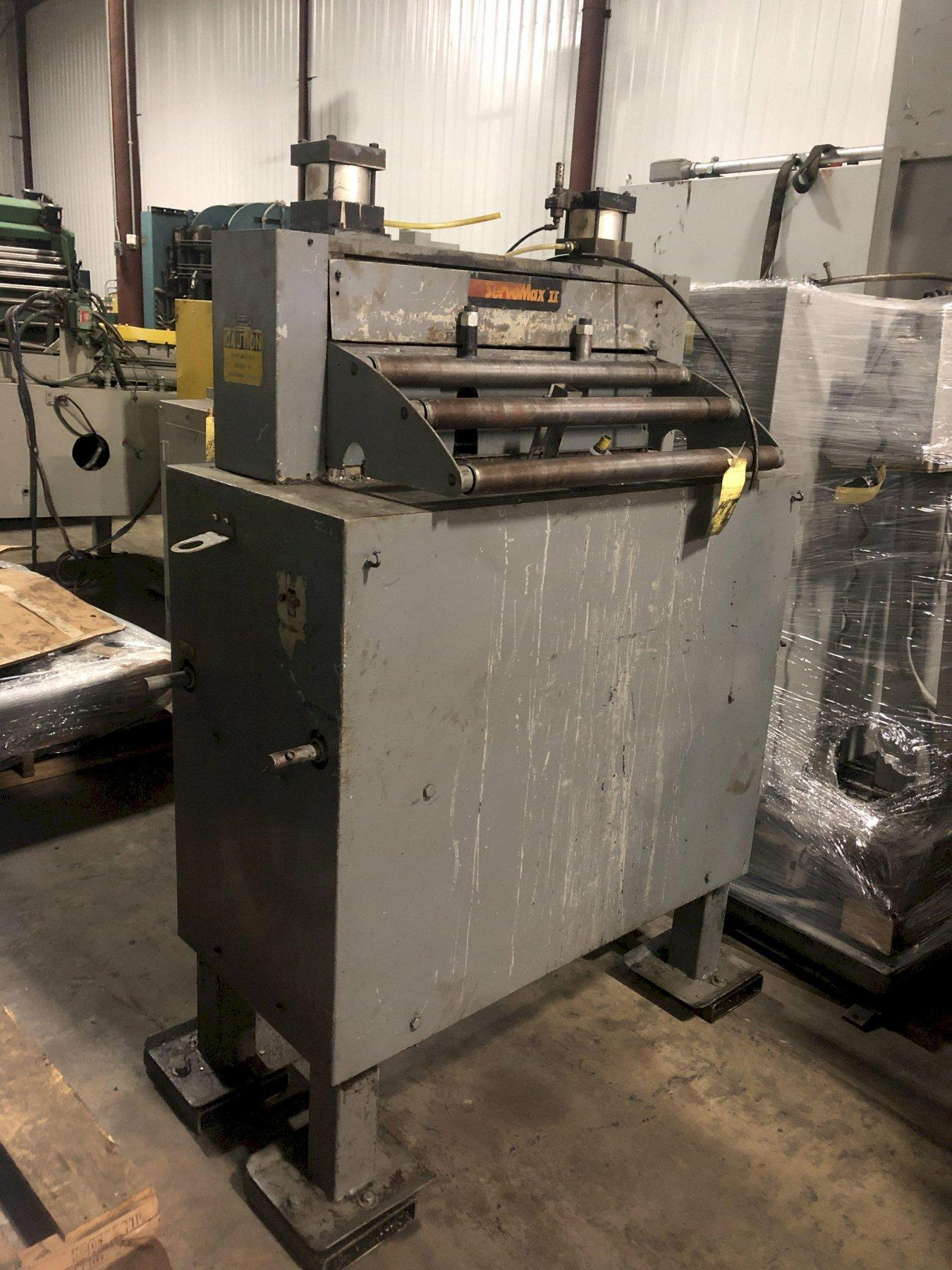 "COOPER WEYMOUTH PETERSON 30"" X .048"" SERVO FEEDER, STOCK# 14043J"