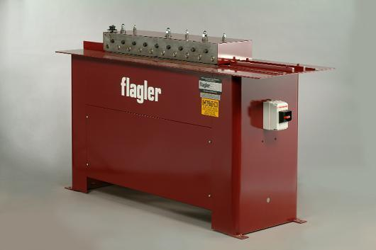 New Flagler High-Speed Button Lock Machine, 20-30 Ga.