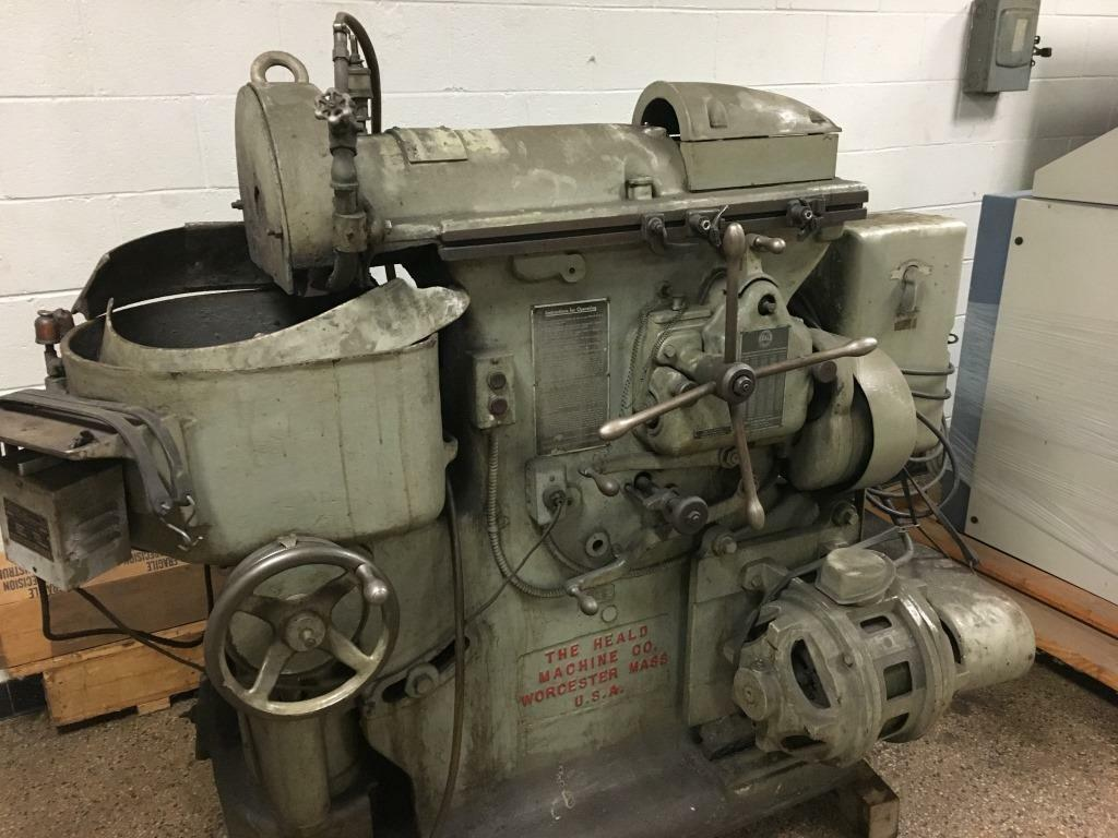 Heald Horizontal Spindle Rotary Surface Grinder