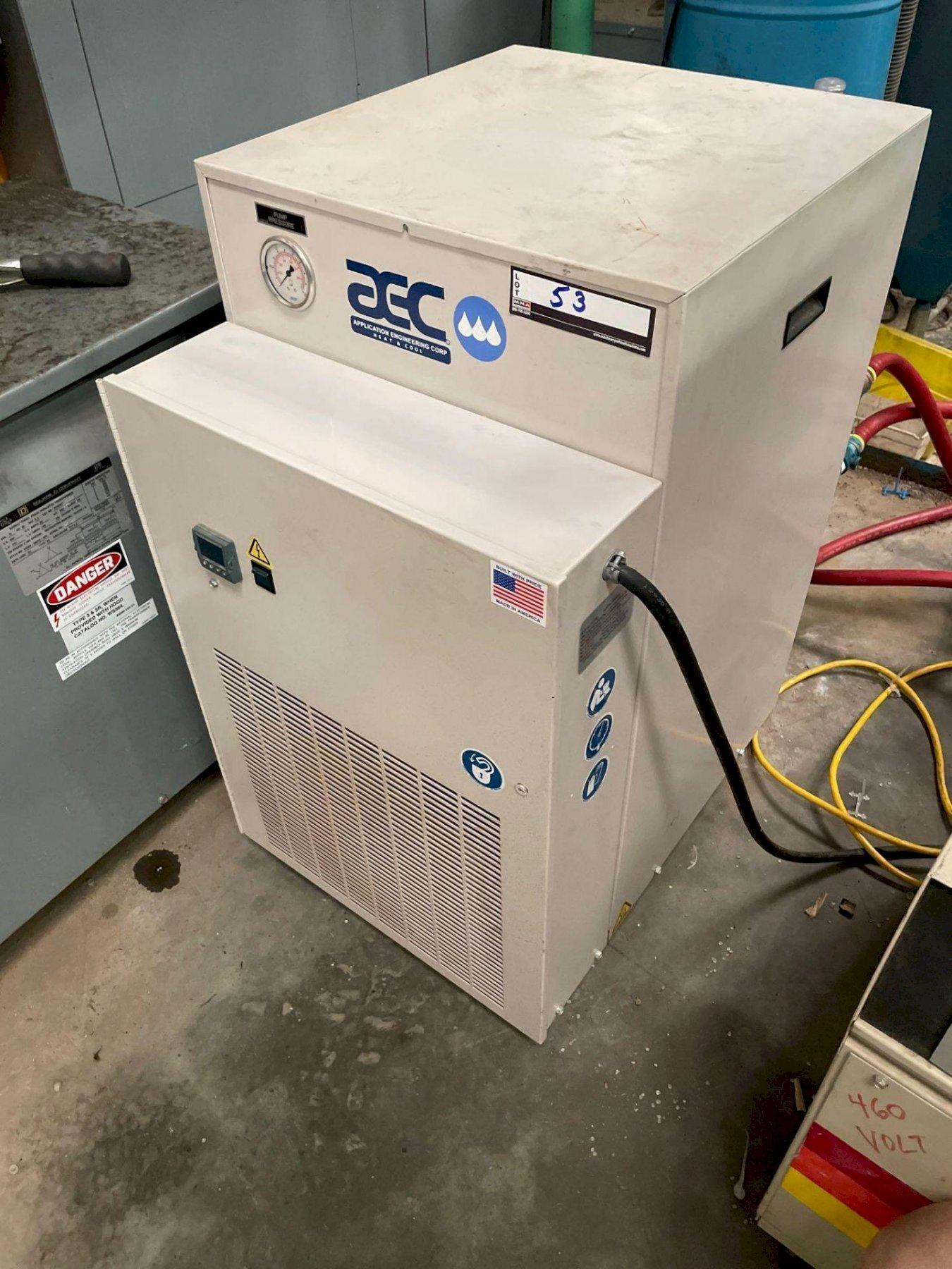 AEC Used Portable Air Cooled Chiller, PCA-50, 1/2 ton, 2014