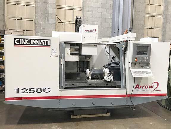 Cincinnati Arrow-2 1250C CNC Vertical Machining Center