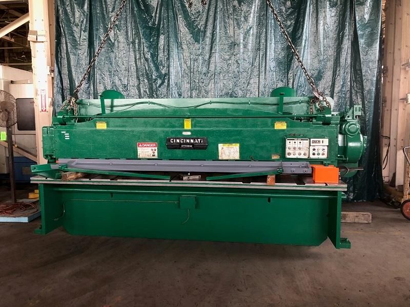 "12' x 1/4"" Cincinnati 1812 Mechancial Squaring Shear"