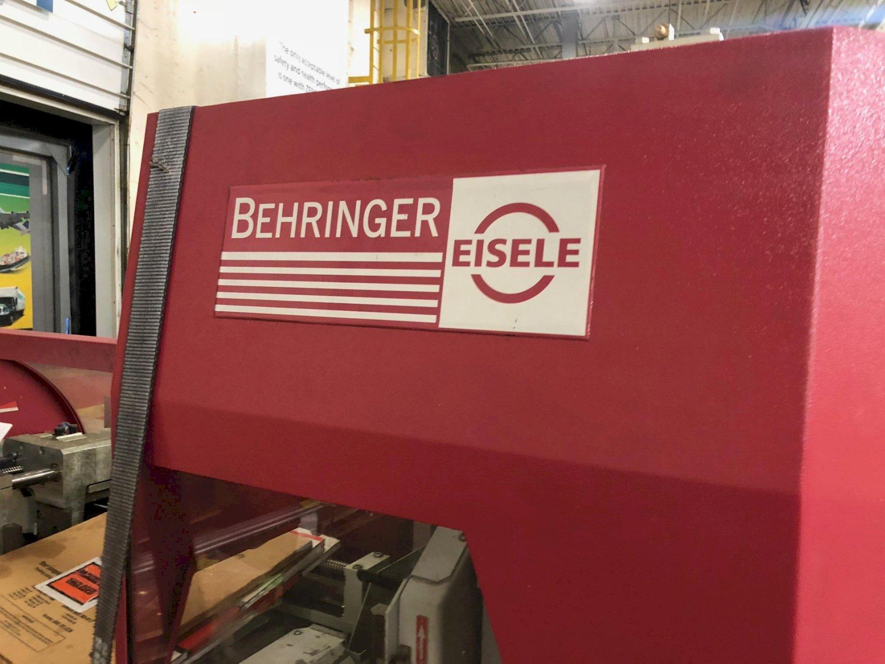 """7.8"""" X 3.9"""" BEHRINGER  CNC AUTOMATIC MITER CIRCULAR COLD SAW"""