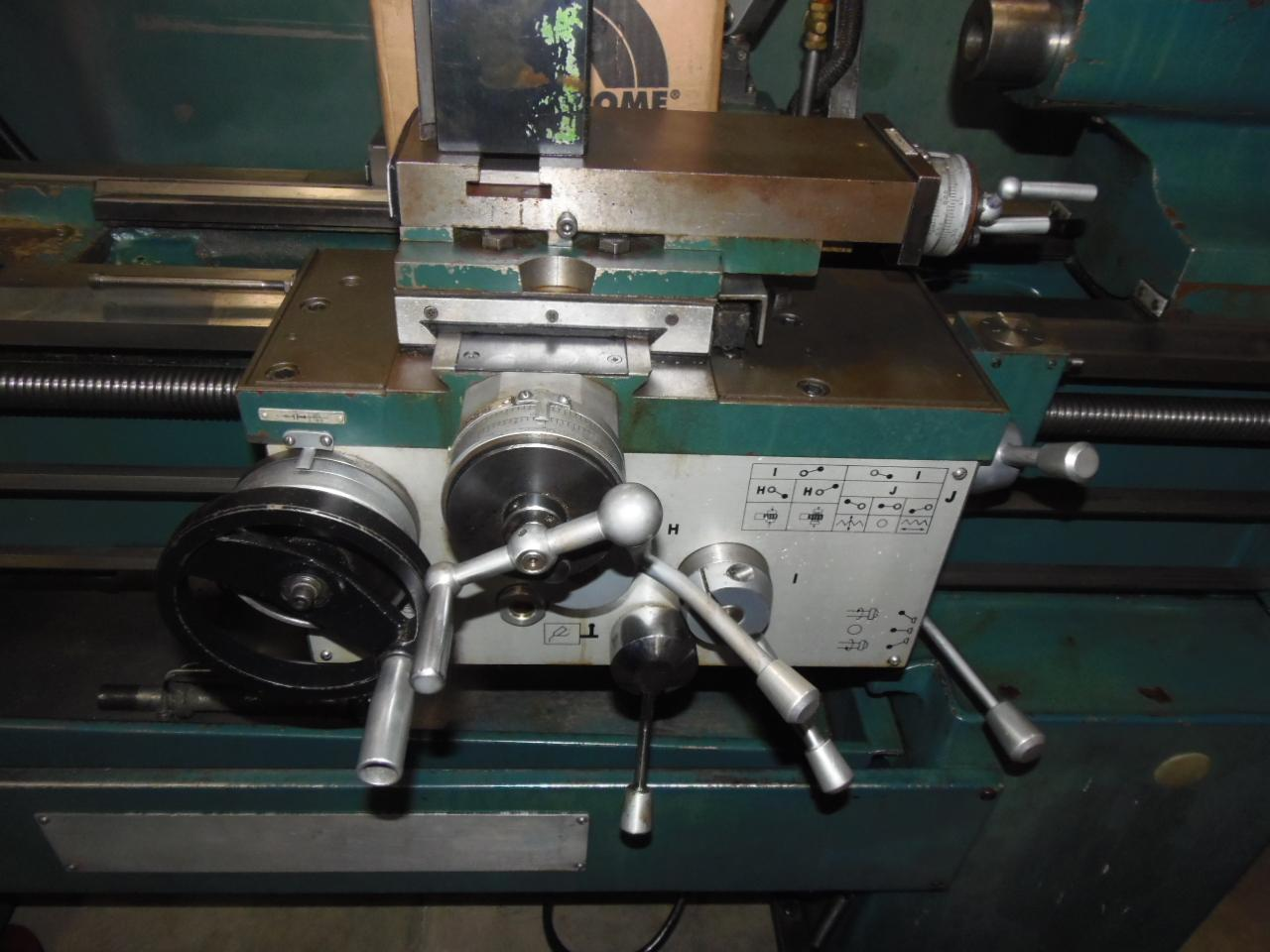 "14"" x 40"" ENCO ENGINE LATHE, MODEL 111-1450, 10"" 3-JAW CHUCK, INCH/METRIC, TAILSTOCK, 2005"