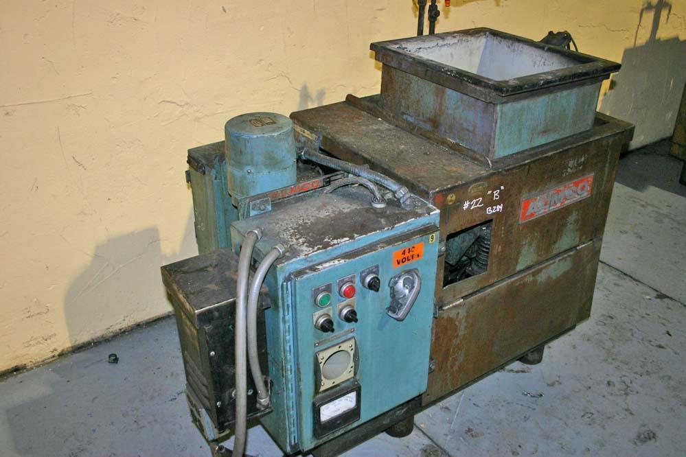 2-1/2 CU FT ALMCO VIBRATING FINISHING MACHINE: STOCK #19183