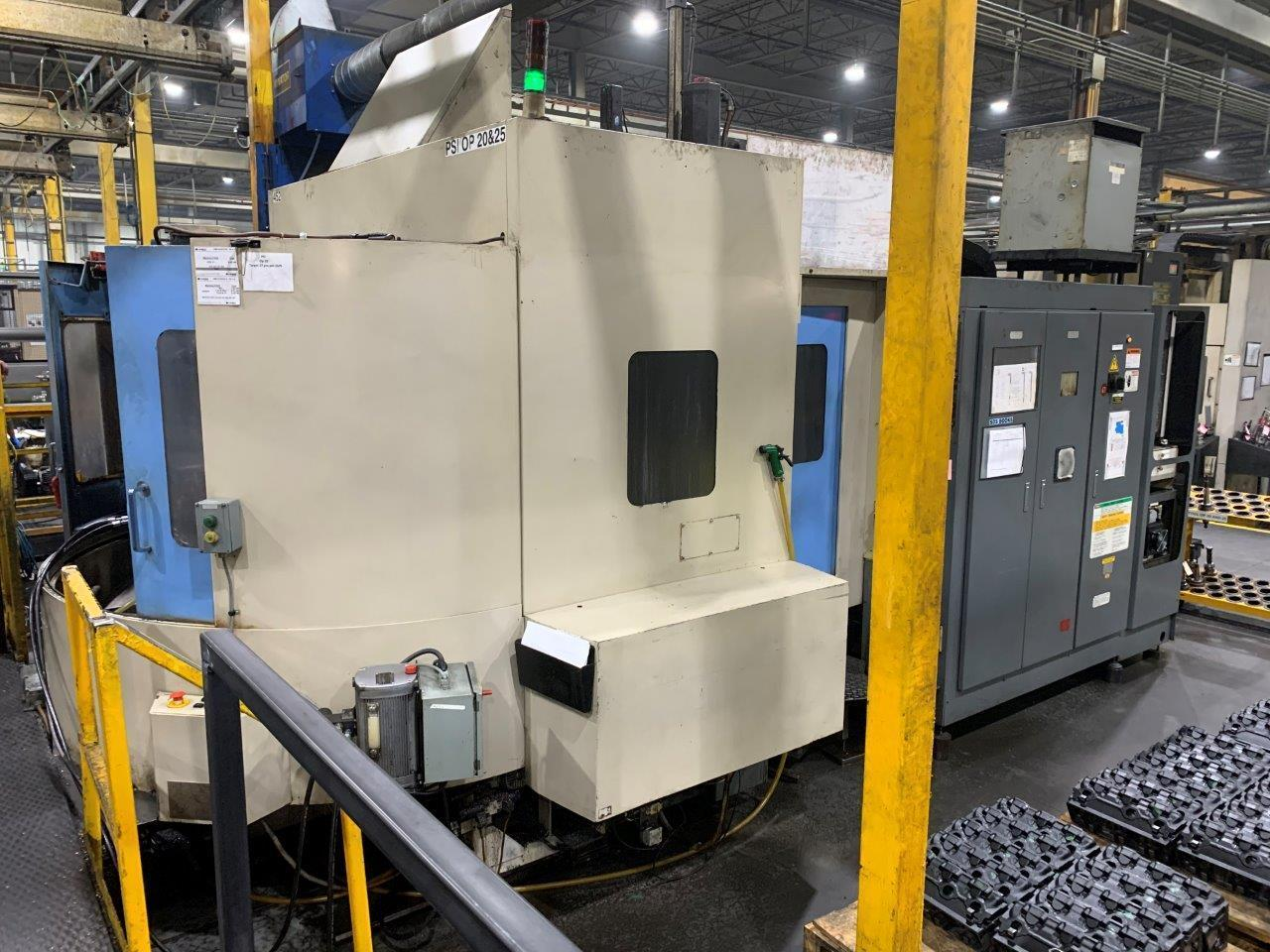 TOYODA FA-630 HORIZONTAL MACHINING CENTER, HIGH PRESSURE THROUGH SPINDLE COOLANT, YEAR 2004