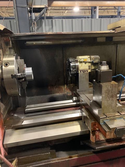 """40"""" x 80"""" Fryer ET40 CNC Flatbed Lathe"""