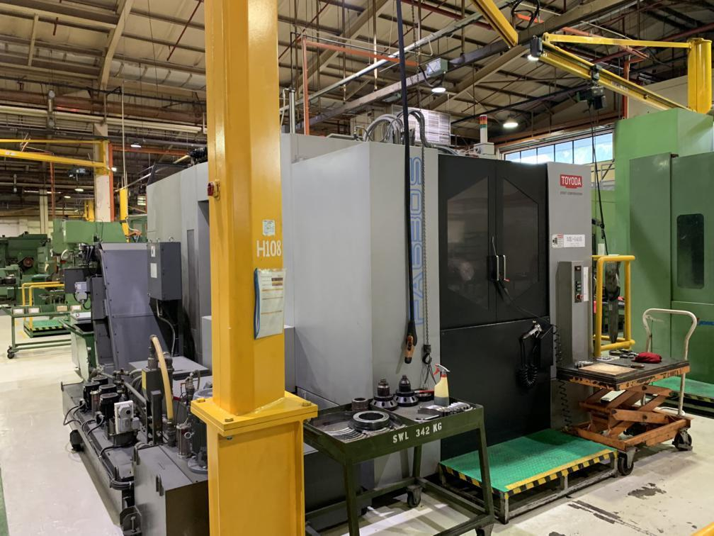 2013 TOYODA FA630s - Horizontal Machining Center
