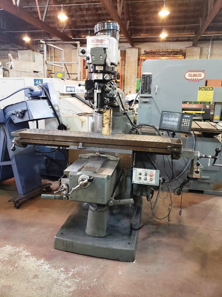 Bridgeport/Vectrax Series II SPECIAL Vertical Toolroom Mill