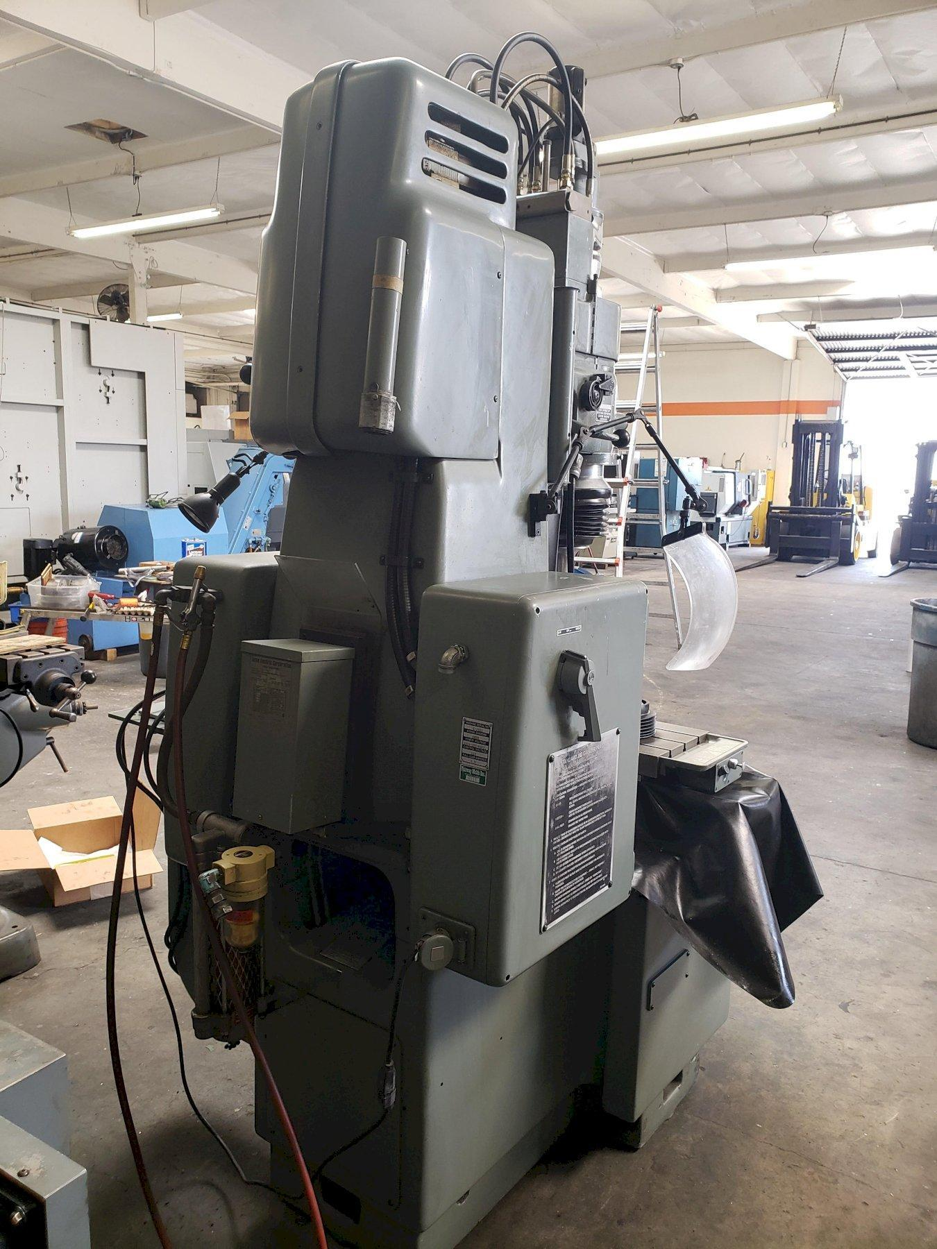 Moore G18 Jig Grinder with: Quadra-Check 100 Digital Readout, 40,000 RPM Grinding Head.