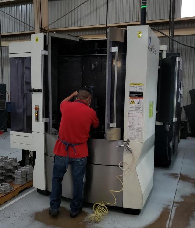 Makino a51NX CNC Horizontal Machining Center
