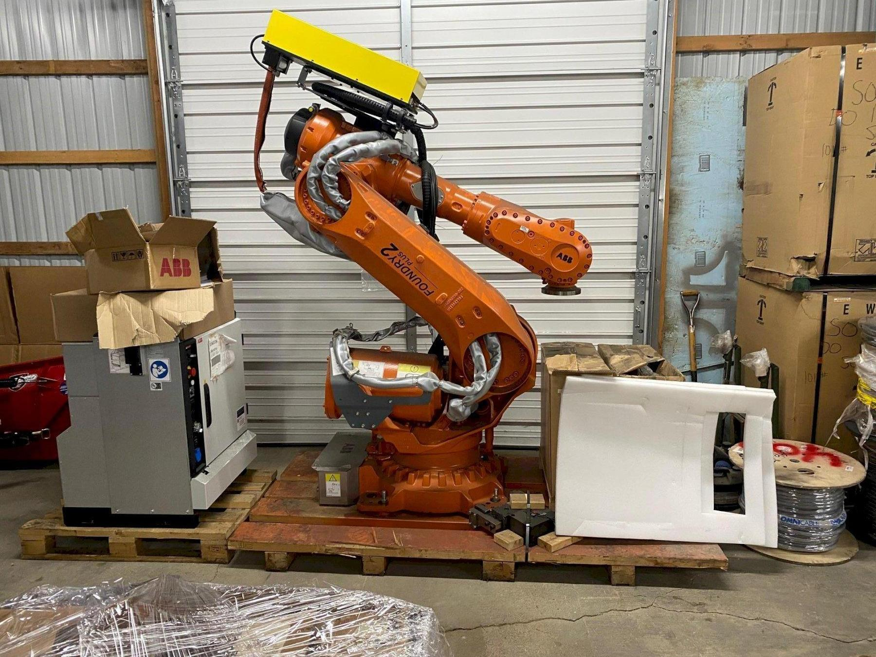 6 AXIS ABB IRB 6700 ROBOT FOUNDRY PLUS 2, NEW 2017: STOCK 14182