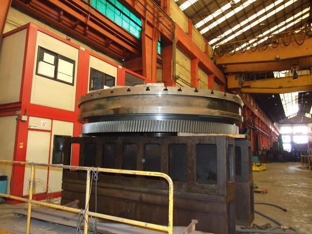 SCHIESS Vertical Turning CNC