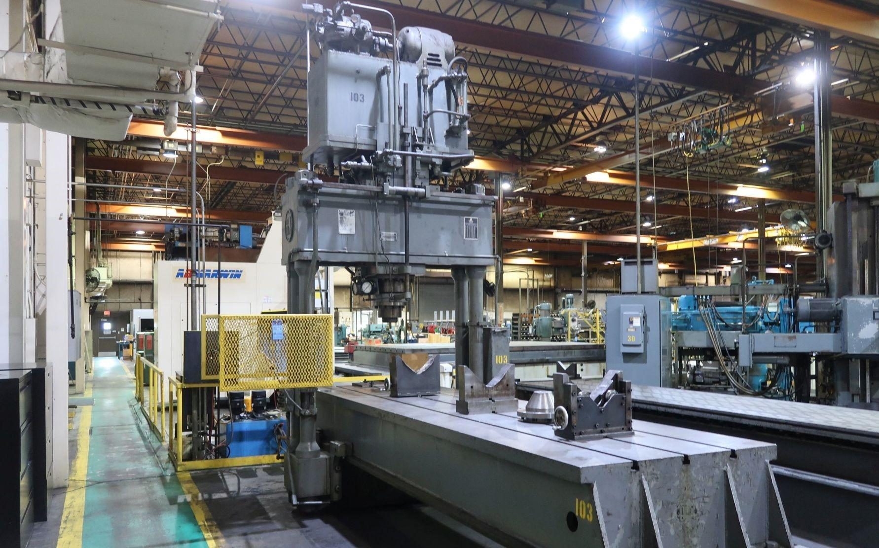 200 TON HPM MODEL #SL-20 HYDRAULIC TRAVELING HEAD STRAIGHTENING PRESS: STOCK 13410