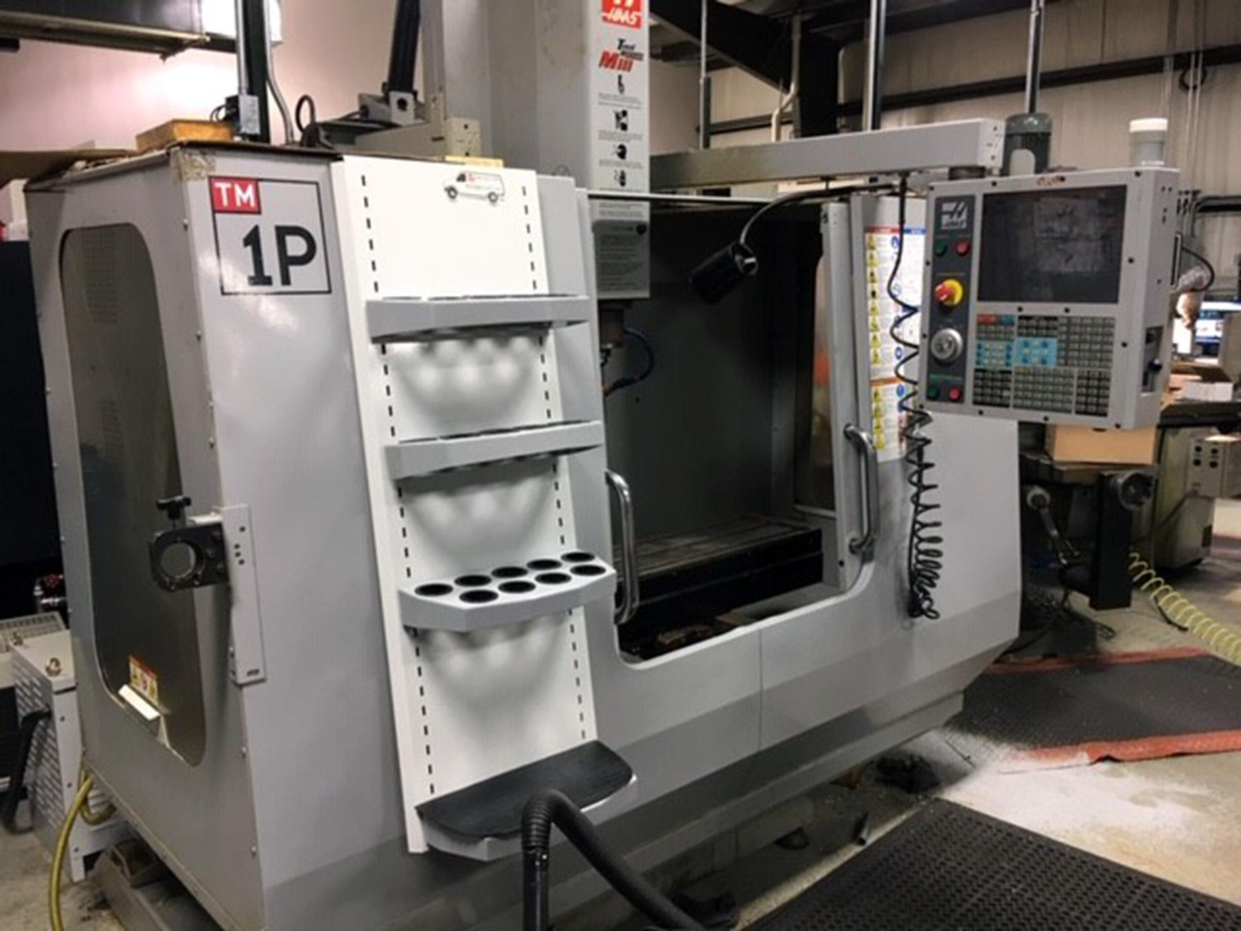 USED, HAAS TM-1P CNC VERTICAL MACHINING CENTER