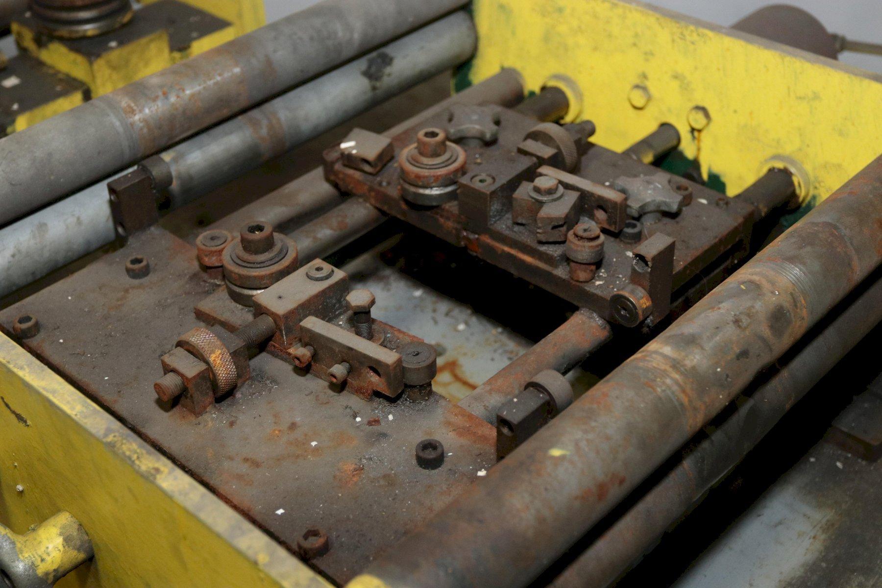 """8"""" TISHKEN MODEL 6R-8 POWERED EDGE CONDITIONER / DEBURRER"""
