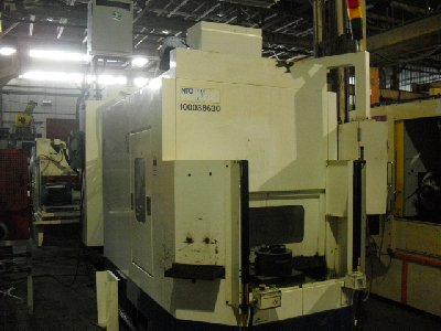 NIPPEI TOYOMA(NTC) MODEL NV4-G CNC VERTICAL MACHINING CENTER (2000)