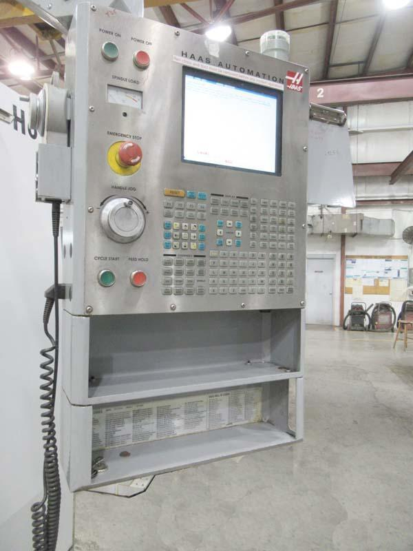 """HAAS VF-6/50, Haas CNC Control, 64"""" x 28"""" Table, X=64"""", Y=32"""", Z=30"""", Cat-50, 10,000 RPM, 4th Pre-wire, 30 Station Side Mount Tool Changer, New 2006."""