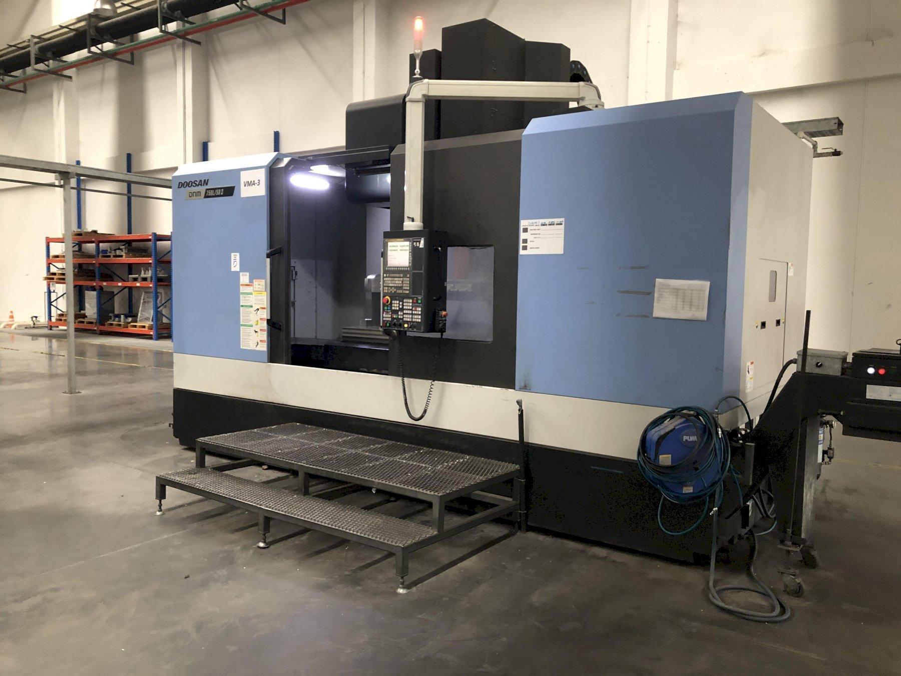 Doosan DNM 750/50 II CNC Vertical Machining Center