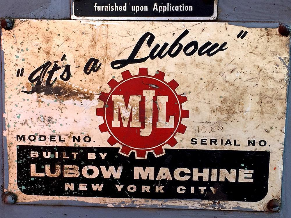 Lubow ML6 Single Stop Table Bender